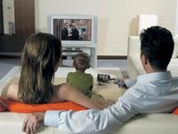 Отдых перед телевизором