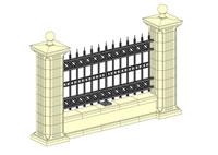 Стильный забор