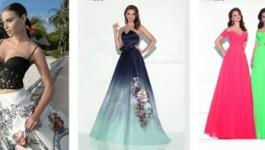 Стильное вечернее платье сделает женщину неотразимой