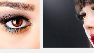 Визажист помогает женщинам исправить мелкие недостатки на лице
