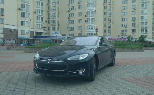 Самый известный электрокар Tesla Model S