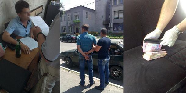 В Черкасской области СБУ задержала на взятке заместителя начальника следственного отдела