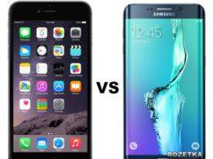 Сравнение смартфона Apple iPhone 6 Plus с Samsung Galaxy S6 Edge Plus | статья по материалам Rozetka.com.ua