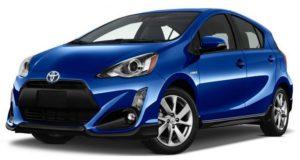 Toyota Prius C: рестайлинг популярного гибрида