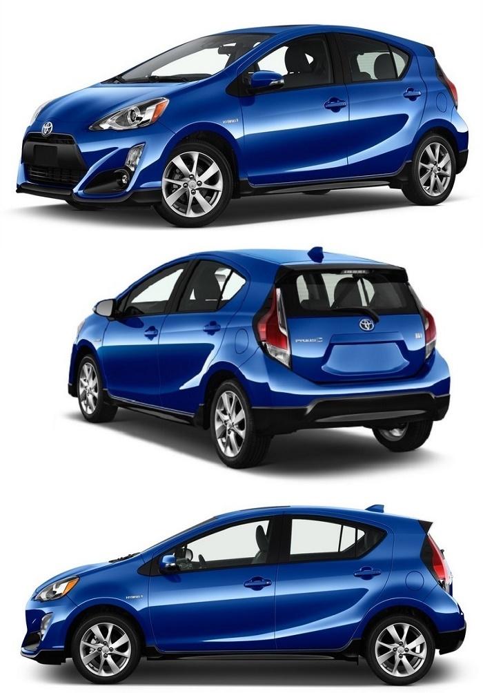 Toyota Prius C: внешний вид
