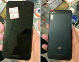 Смартфоны Xiaomi Mi6: утечка информации
