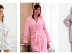 Выбор новогоднего подарка: женские халаты и приятные мелочи