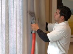Химчистка штор: преимущества профессионального подхода