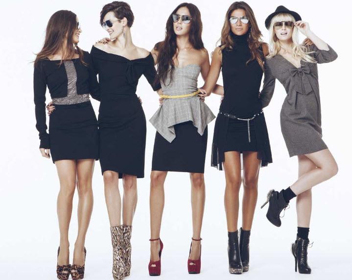 Женская одежда: актуальные платья и модный фасон рубашек