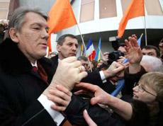 Ющенко в Стразбурзі
