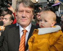 Ющенко переможе