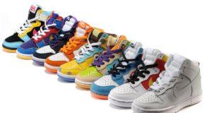 выбор спортивной обуви