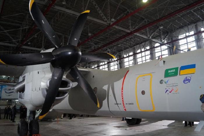 Двигатели самолета АН-132D