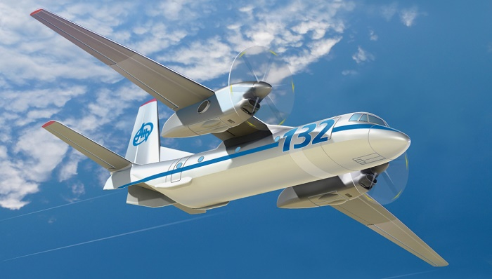 Новый грузовой самолет АН-132D от ГП «Антонов»