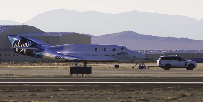 Космический корабль Virgin Galactic: успешный испытательный полет