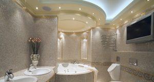 Чем отделать ванную комнату кроме плитки: фото, варианты, советы