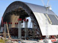 Новое укрытие над Чернобыльской АЭС