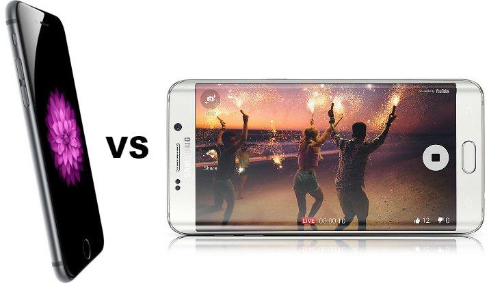 Сравнение смартфона Apple iPhone 6 Plus с Samsung Galaxy S6 Edge Plus - 4 фото