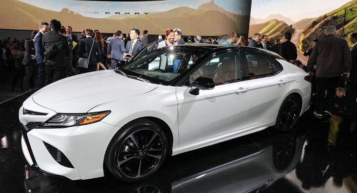 Новая Camry от Toyota. Общий вид