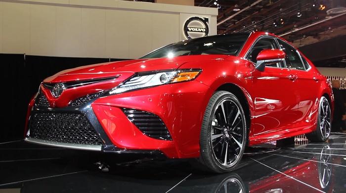 Новая Camry от Toyota. Краткий обзор