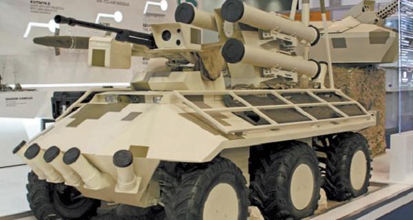 «Фантом» с противотанковым ракетным комплексом «Барьер»