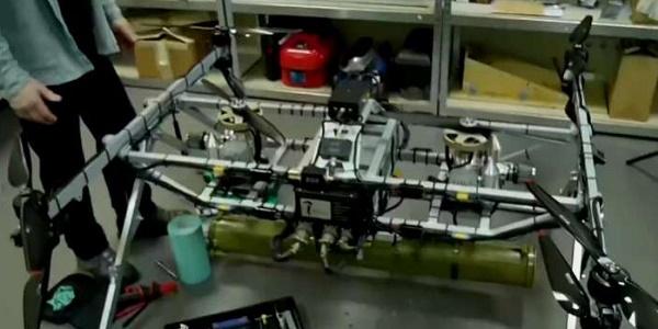 Беспилотная мультироторная летающая платформа Командор