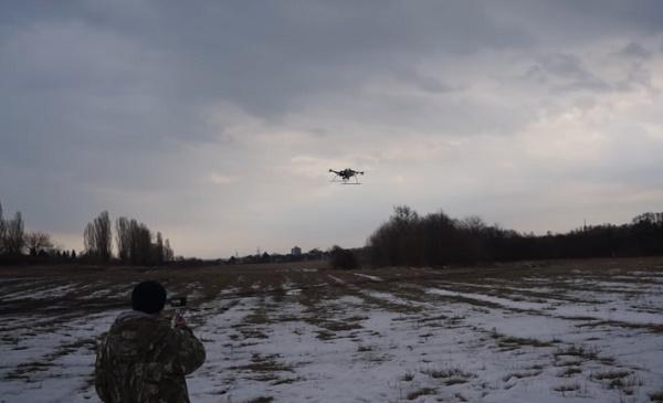 Полевые испытания БПЛА Командор