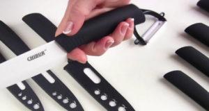 Керамические кухонные ножи CHIBUR