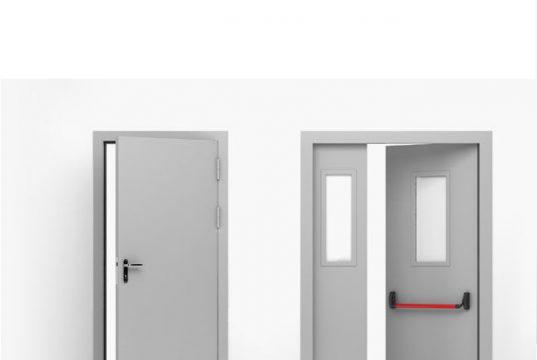 Обзор металлических противопожарных дверей, которые можно заказать в интернете