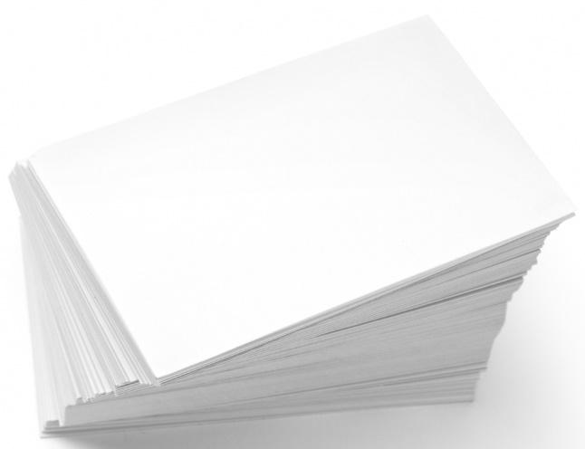 Виды офисной бумаги и критерии ее выбора